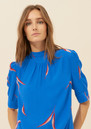 Ba&sh Tara Top - Royal Blue