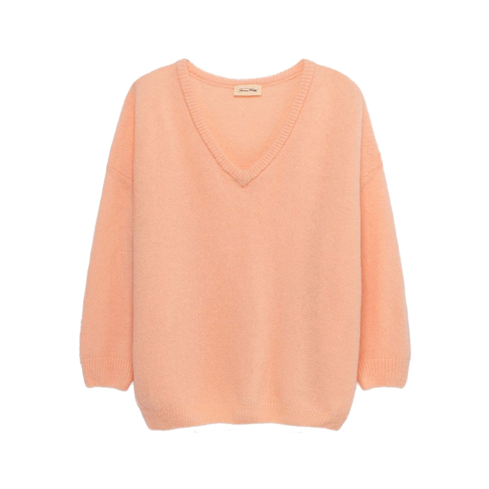 Vikiville Long Sleeve Jumper - Sugar Almond