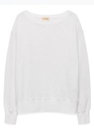 American Vintage Sonoma Long Sleeve Sweatshirt - White