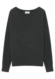 American Vintage Sonoma Long Sleeve Sweatshirt - Charcoal Melange