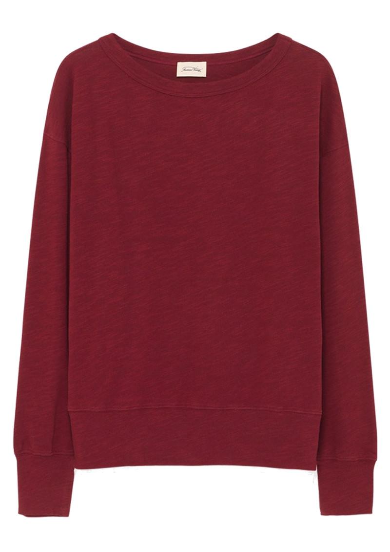American Vintage Sonoma Long Sleeve Sweatshirt - Cluster main image