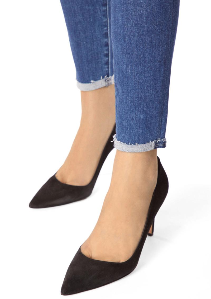 J Brand Leenah Super High Rise Ankle Skinny Jeans - Moonless main image