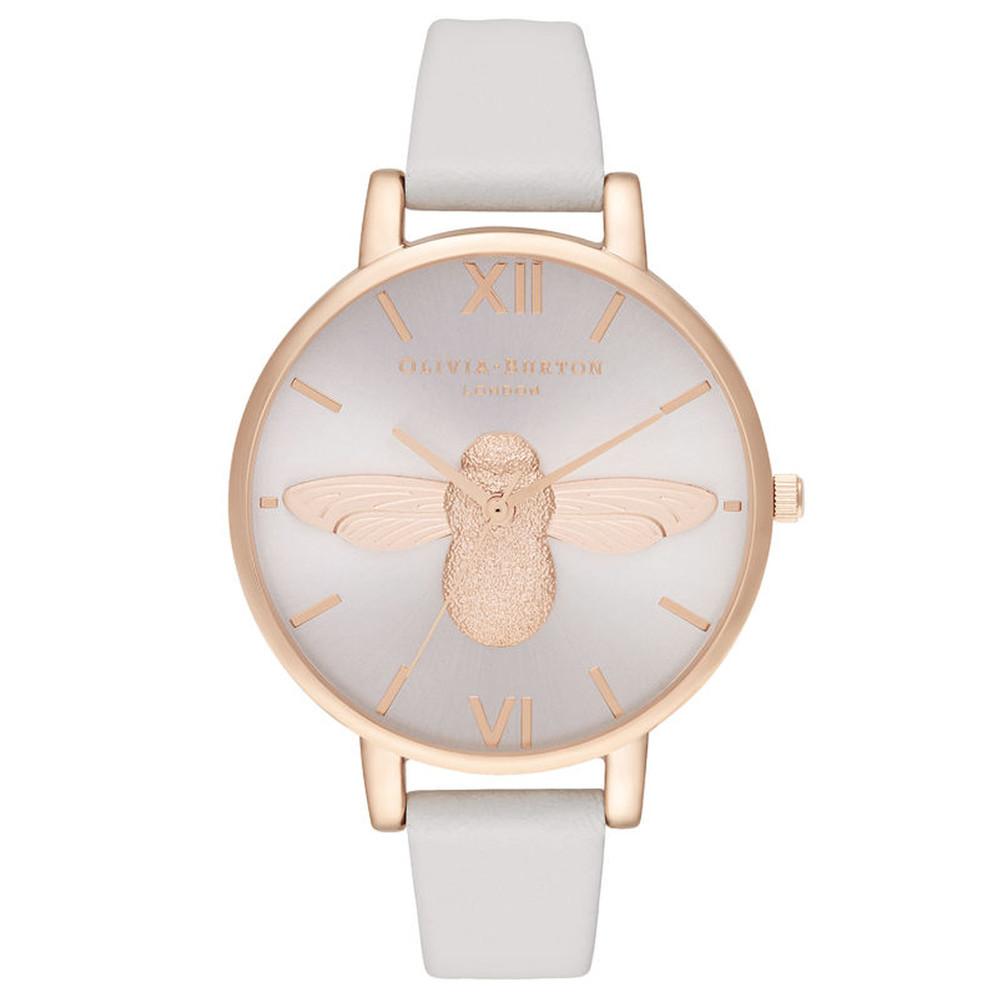 3D Bee Big Dial Blush Sunray Watch - Blush & Rose Gold