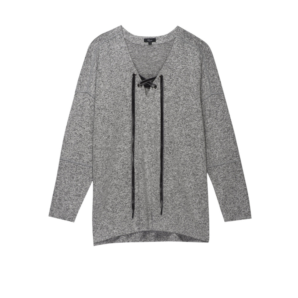 Leigh Sweater -Grey Melange