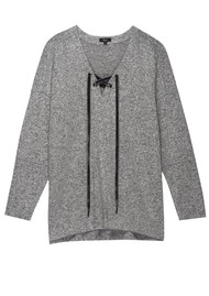 Rails Leigh Sweater -Grey Melange