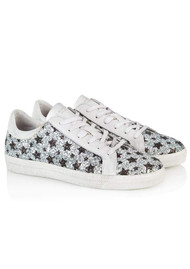 AIR & GRACE Cru Trainers - Star Glitter
