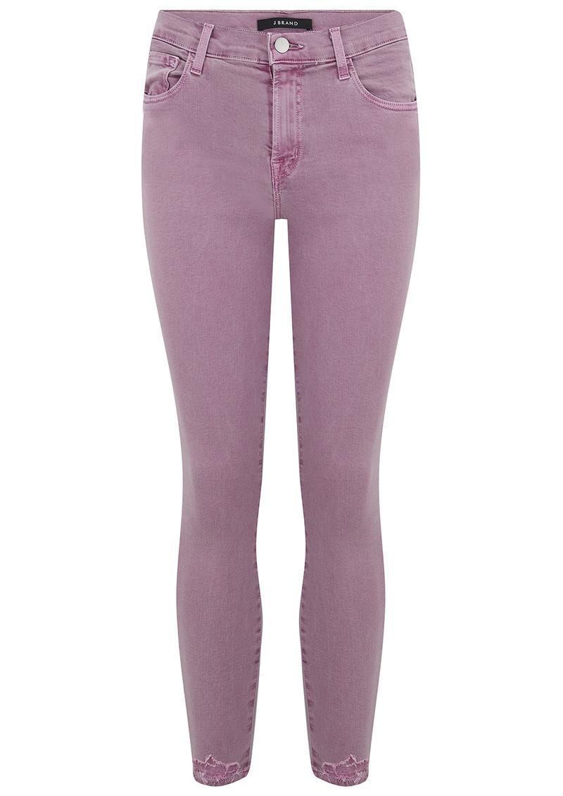 fca26a06a36 835 Mid Rise Cropped Photo Ready Skinny - Lilac Destruct main image