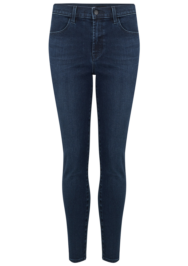 Alana High Rise Cropped Skinny Photo Ready Jeans - Phased main image