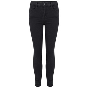 Alana High Rise Cropped Skinny Photo Ready Jeans - Bellatrix Destruct