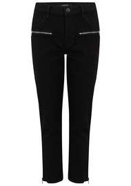 J Brand Moto Ruby High-Rise Cropped Cigarette - Vanished