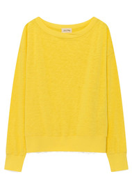 American Vintage Sonoma Long Sleeve Sweatshirt - Canary