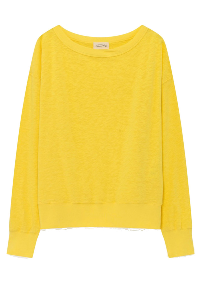 Sonoma Long Sleeve Sweatshirt - Canary main image