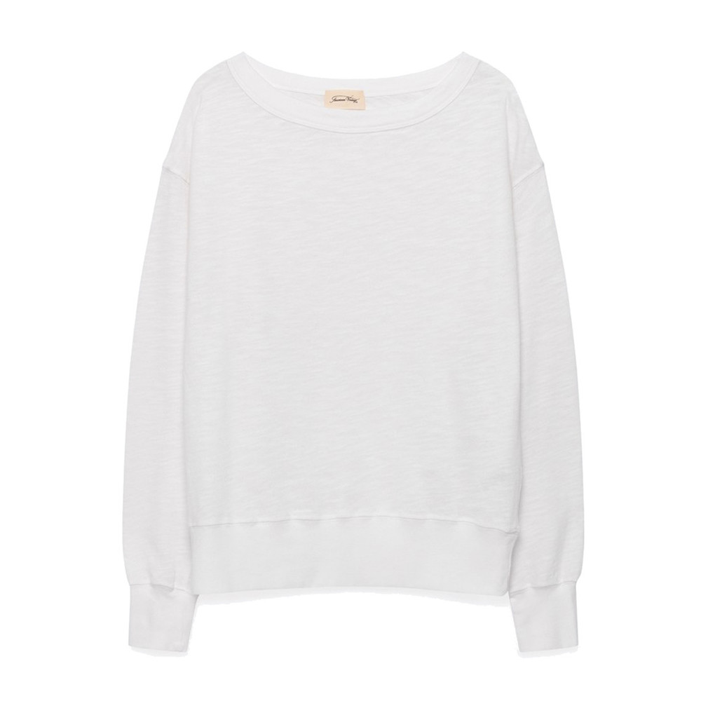 Sonoma Long Sleeve Sweatshirt - White