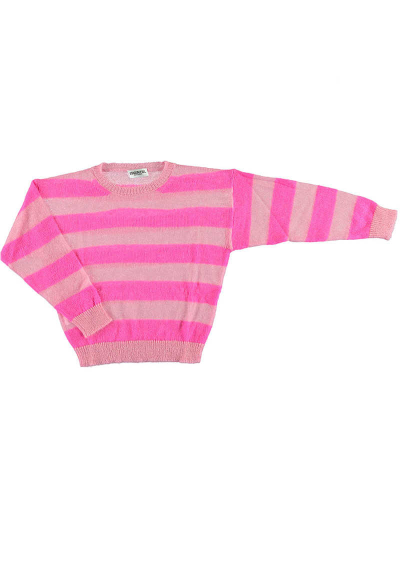 ESSENTIEL ANTWERP Santander 1 Striped Sweater - Cotton Candy main image