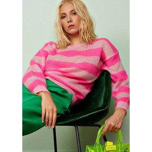 Santander 1 Striped Sweater - Cotton Candy
