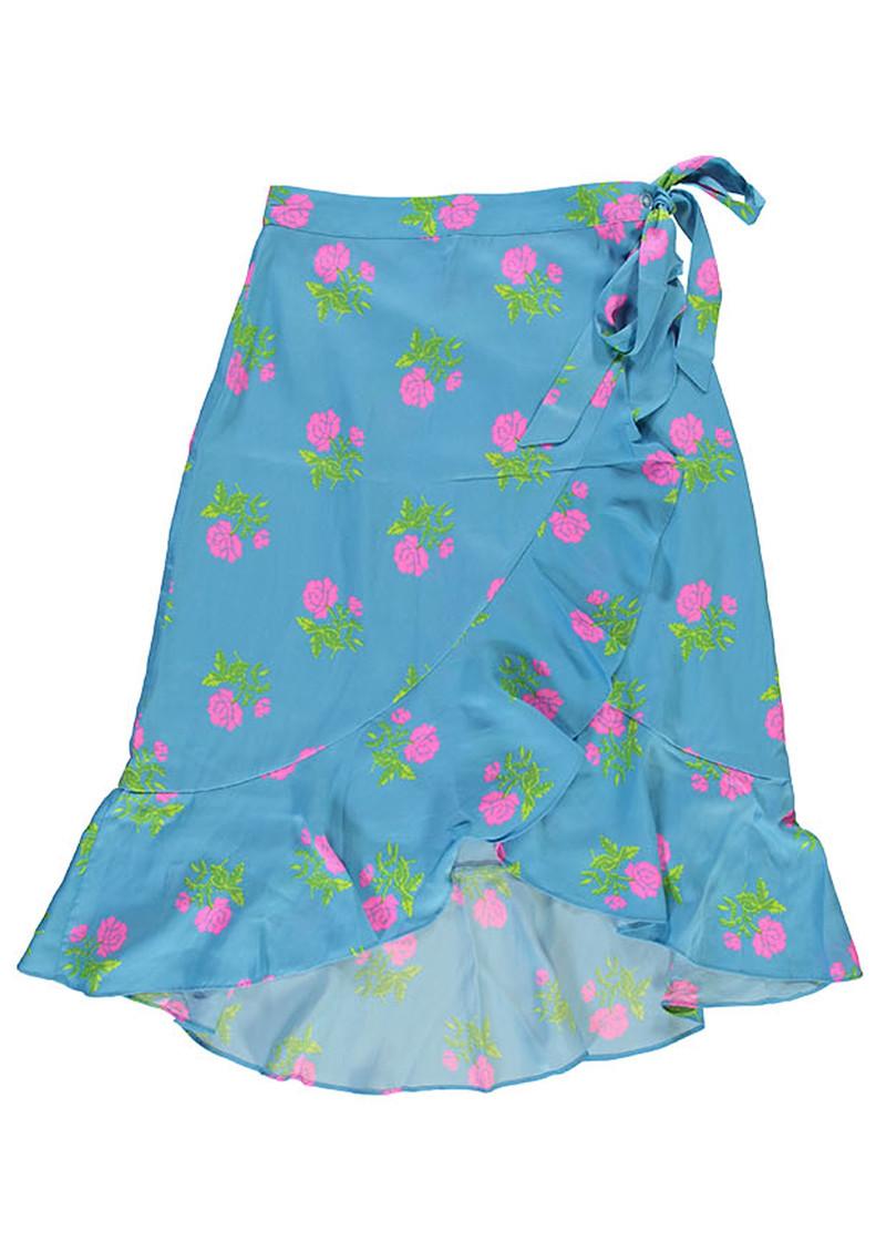 ESSENTIEL ANTWERP Sadie Wrap Skirt - Honolulu main image