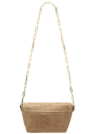 Sous Les Paves Mai Tai Leather Elephant Handbag - Honey