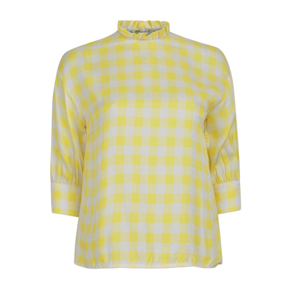 Mere Top - Creamy Lemon Check