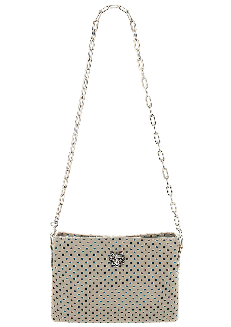Sous Les Paves Small Zaza Leather Bag - Chalk main image
