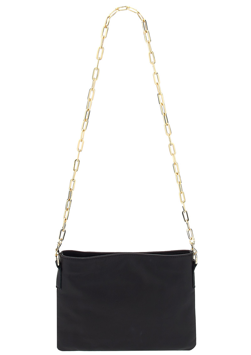Sous Les Paves Small Zaza Leather Bag - Black main image