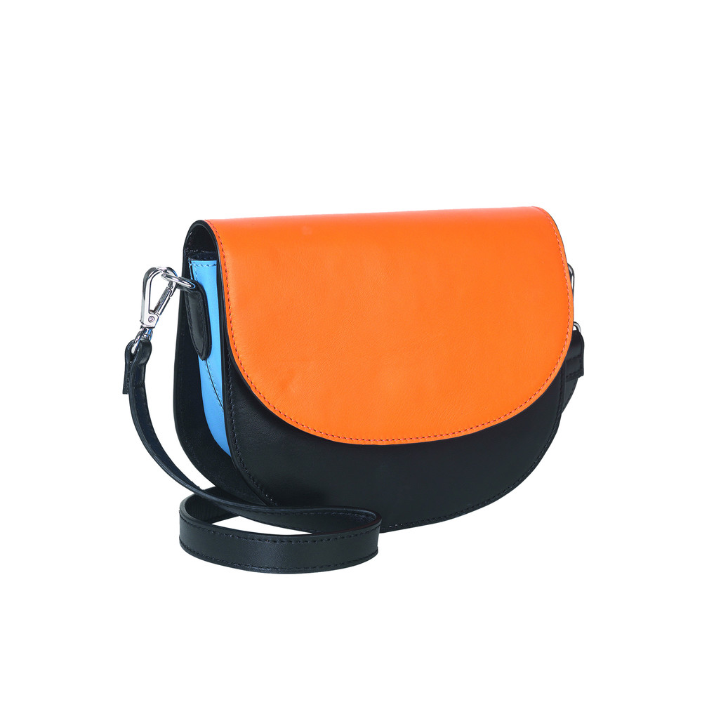 Maci Leather Bag - Black