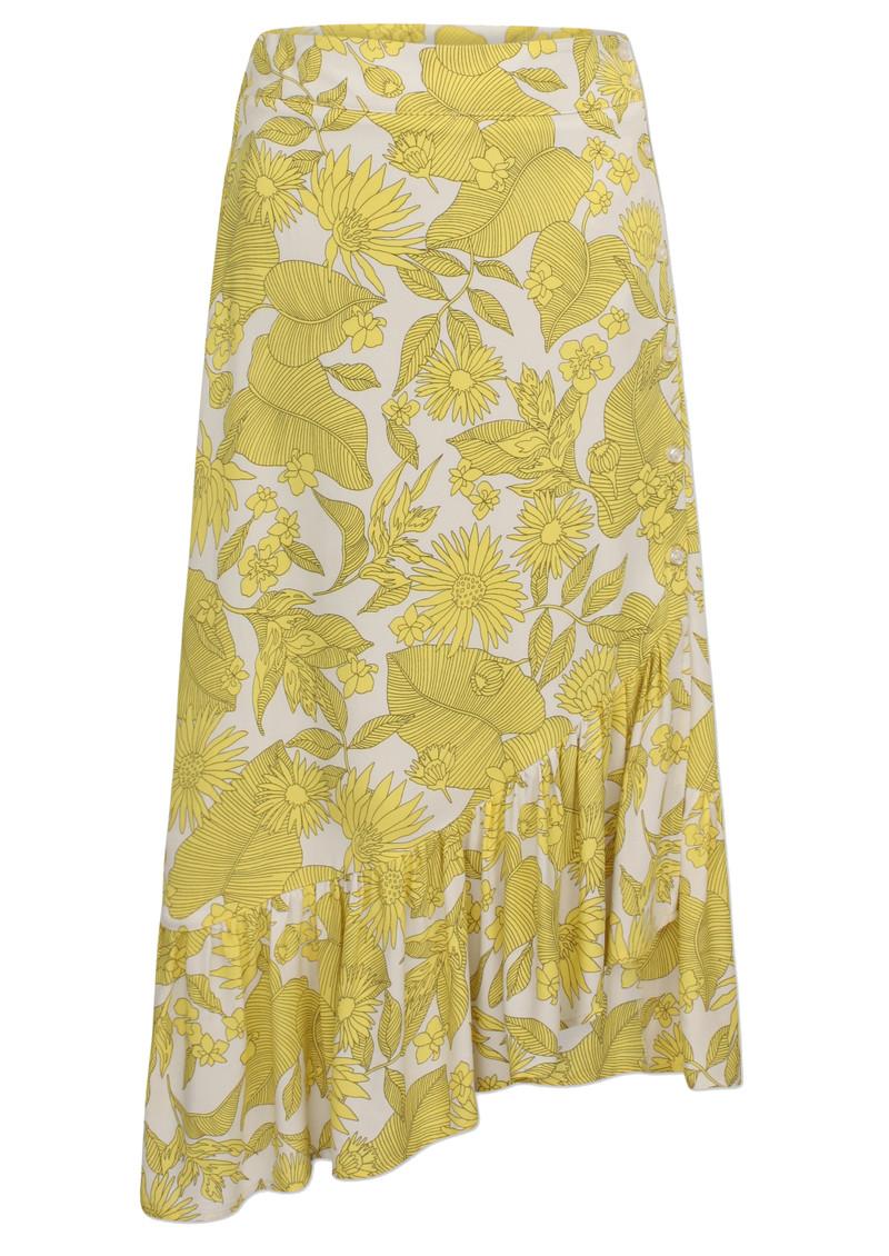 BAUM UND PFERDGARTEN Silva Skirt - Tropical Yellow main image