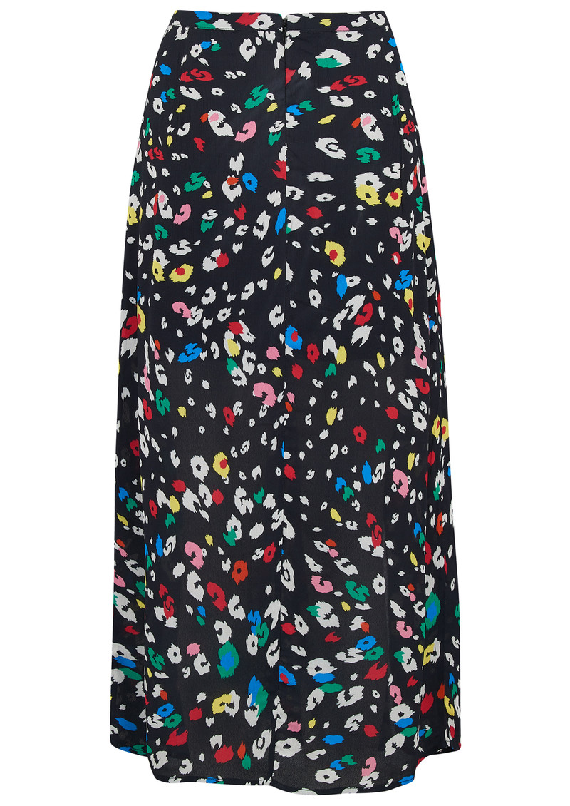 Lily and Lionel Exclusive Grace Skirt - Dancing Leopard Bright main image