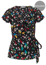 Lily and Lionel PRE ORDER Exclusive Trixie Top - Dancing Leopard Bright