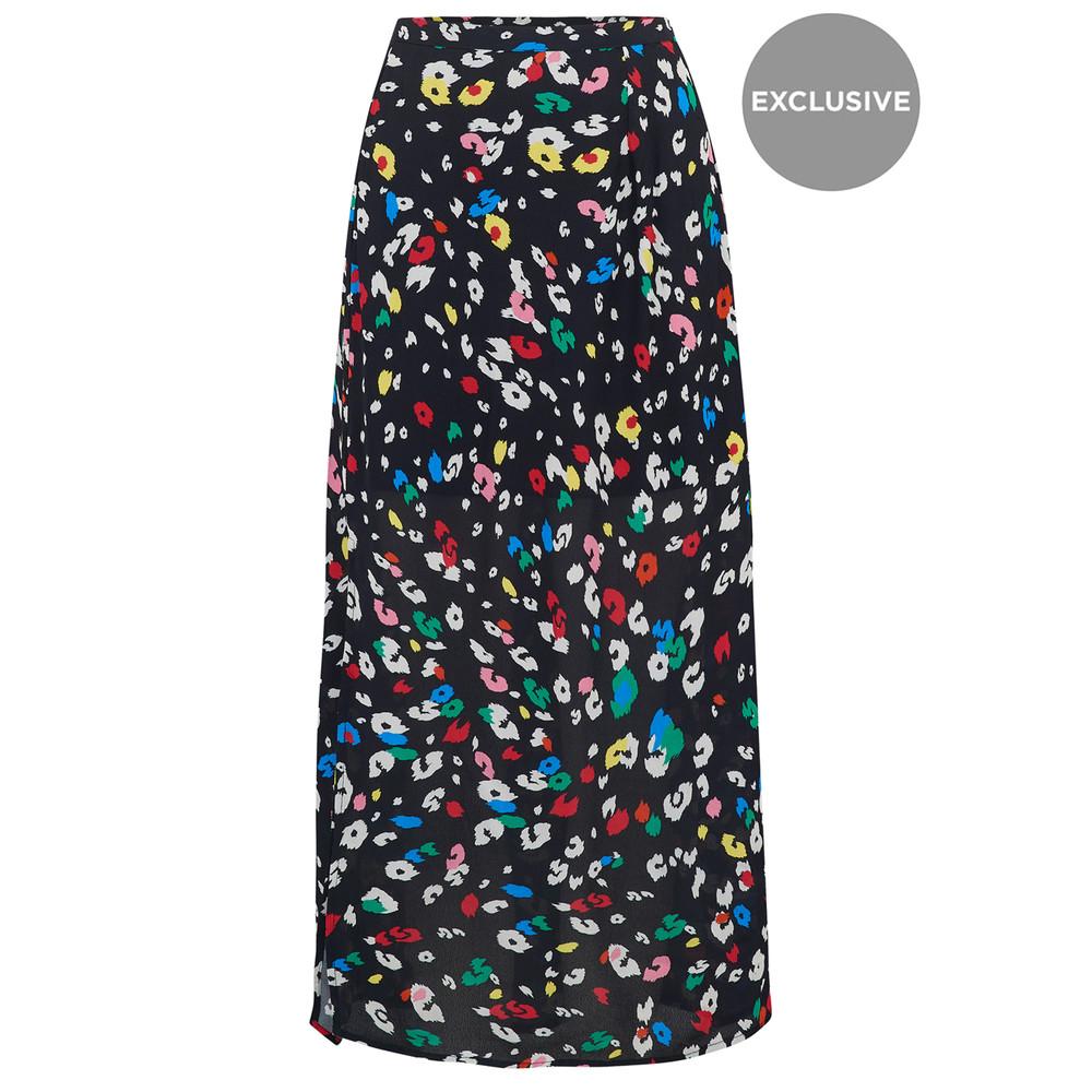PRE ORDER Exclusive Grace Skirt - Dancing Leopard Bright