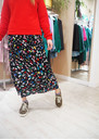 Lily and Lionel Exclusive Grace Skirt - Dancing Leopard Bright