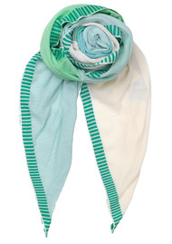 Becksondergaard Vikke Cotton Scarf - Grass Green