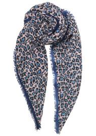 Becksondergaard Cleo Leopard Scarf - Light Blue