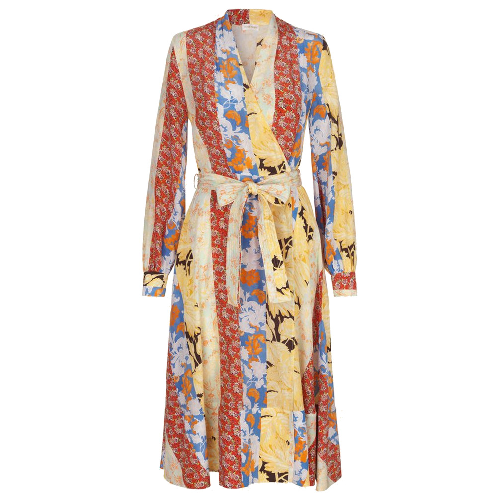 Reflection Dress - Floral Wallpaper
