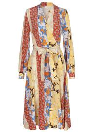 STINE GOYA Reflection Dress - Floral Wallpaper