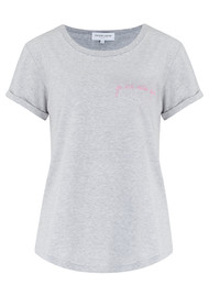 MAISON LABICHE Je Ne Sais Quoi Tee - Heather Grey