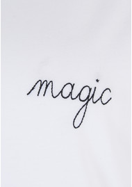 MAISON LABICHE Magic Tee - White