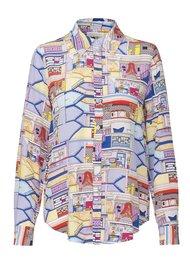STINE GOYA Maxwell Silk Shirt - Palazzo