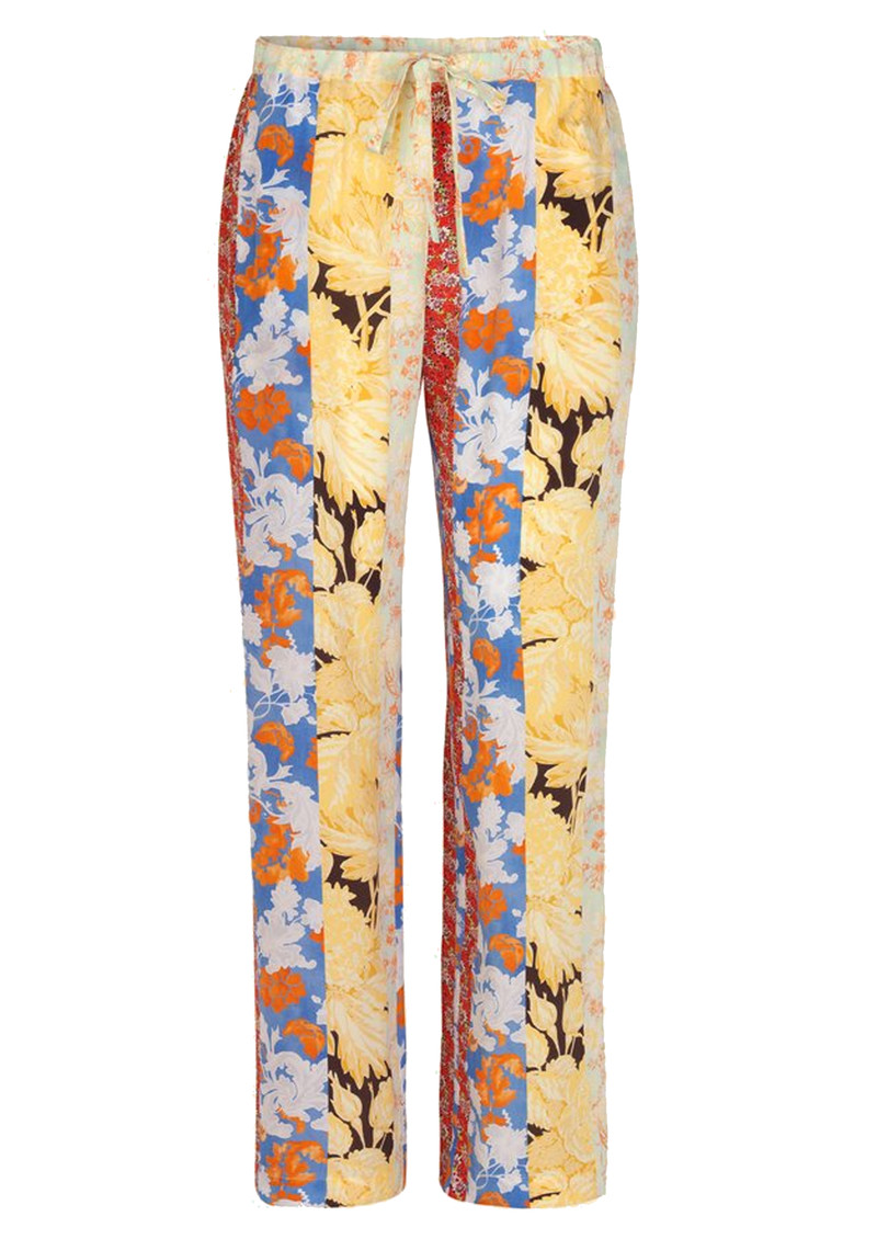 Aileen Trousers - Floral Wallpaper main image