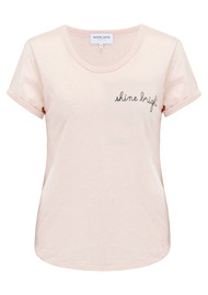 MAISON LABICHE Shine Bright Tee - Heather Pink