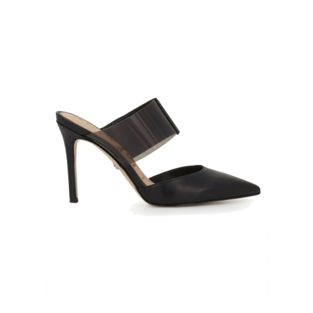 Hope Stiletto Mule Heel - Black Smoke