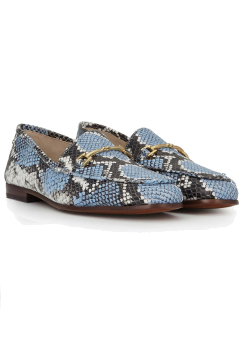 Sam Edelman Loraine Snake Loafer - Corn Blue main image