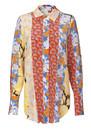 STINE GOYA Virgo Silk Shirt - Floral Wallpaper