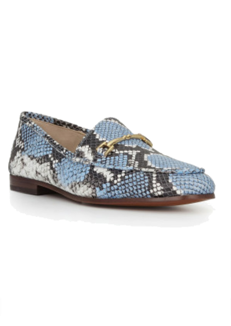 Loraine Snake Loafer - Corn Blue main image