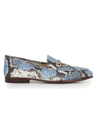 Sam Edelman Loraine Snake Loafer - Corn Blue