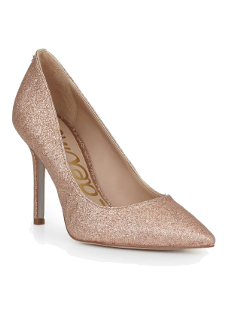 Sam Edelman Hazel Heels - Rose Gold Glitter main image