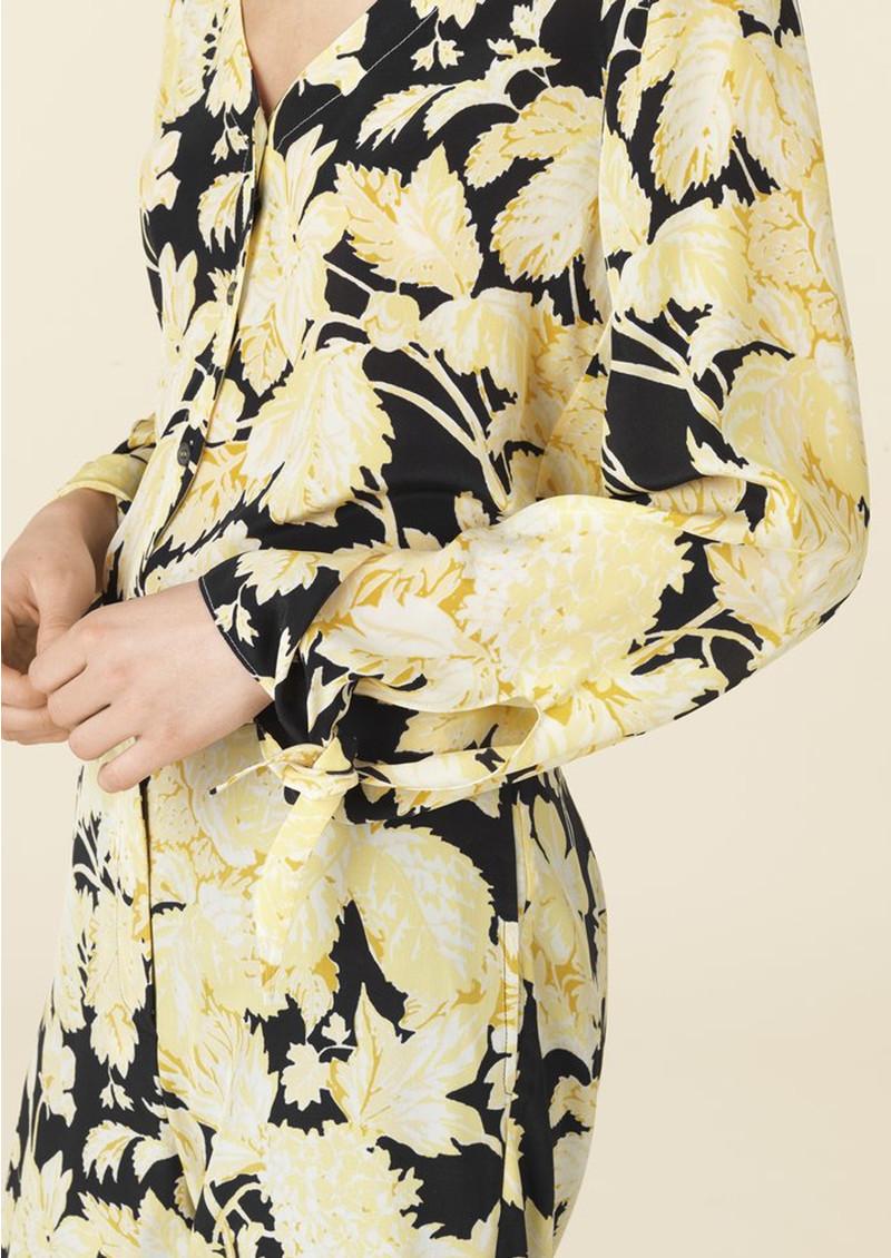 STINE GOYA Kimberly Silk Blouse - Hortensia Dark main image