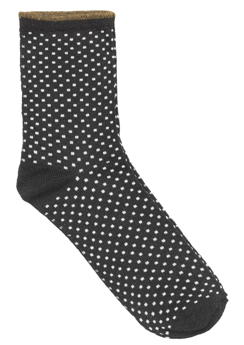 Becksondergaard Dina Small Dots Socks - Black main image