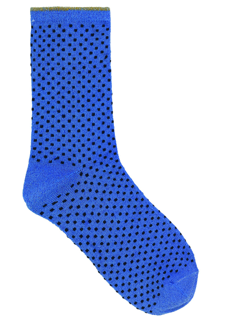 Becksondergaard Dina Small Dots Socks - Light Blue main image
