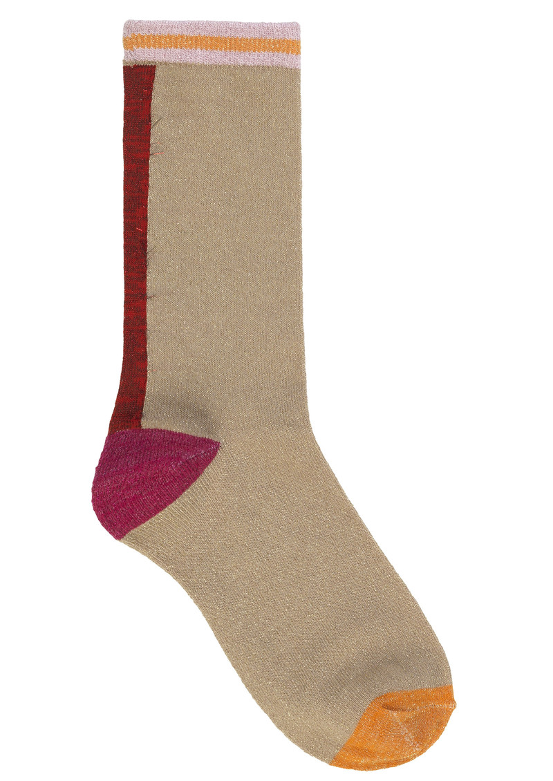 Becksondergaard Dalea Mix Socks - Red Love  main image