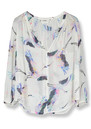 Darcie Silk Blouse - Crane additional image
